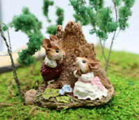 Wee Forest Folk Hearts And Flowers FS-2 Mouse Figurine Limited WWF 1989 Retired