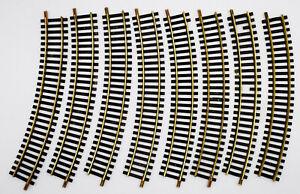Fleischmann Gleis 6025 Modellgleis R357,5 8 Stück gebogen Kurve
