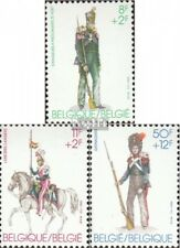 België 2160-2162 postfris 1983 Oud Militaire uniformen