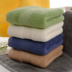 Egyptian Cotton Face Towel Sports Towel Solid Colors 5 Star Hotel Bathroom Towel