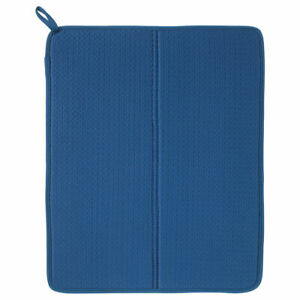 IKEA NYSKÖLJD dish drying mat blue