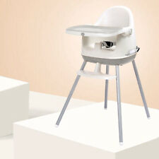 Baby High Chair 3-in-1 BABYYUGA Highchair Seat Booster Kids Chair - Grey