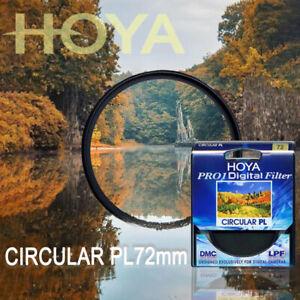 Digital CIRCULAR Polarizer Camera Lens Filter for SLR Camera HOYA 72mm Pro1 CPL