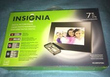 "NEW Digital Picture Frame 7"" By Insignia With Remote Control"