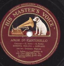 Sopran Rosetta Ferlito: AMOR DI Pastorello + mandulinata