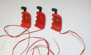 Vintage Set of 3 Tyco Slot Car Controllers