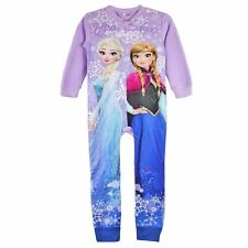Girls Boys Fleece Pjs Pyjamas Nightwear - Various Age Sizes 3 4 5 6 & 8