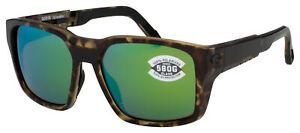 Costa Del Mar Tailwalker Sunglasses 6S9003-0356 Green Mirror Polarized 580G