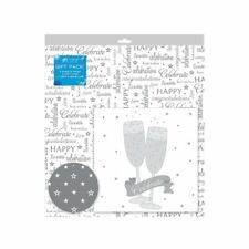 2 Feuilles De Celebrations Mariage Cadeau Emballage Papier Emballage,Carte & 2