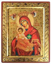 VIRGIN AND CHILD, INFANT BEARER-Greek Byzantine Orthodox Icon