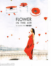 PUBLICITE ADVERTISING 065  2013  KENZO    parfum FLOWER IN THE AIR