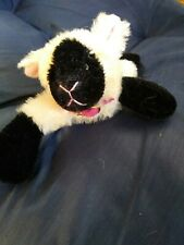 Annette Funicello Collectible Bear Co Lamb Plush w/ pink collar