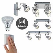 Paulmann Techno II Deckenleuchten  inkl. dimmbare LED Leuchtmittel 3-Stufen dimm