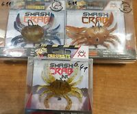 Chasebaits Smash Crab Weighted Soft Plastic Bass Lure