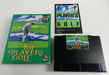 Top Player´s Golf - JP - Neo Geo AES - good condition CIB !