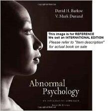 Abnormal Psychology: An Integrative Approach by V. Mark (Int' Ed Paperback)7ed