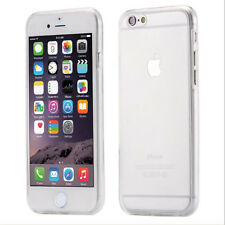 For Various iPhone 360 Front and Back Full Protective TPU Gel Clear Case Cover