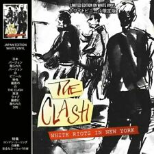 The Clash - White Riots In New York Japan Limited Edition White Vinyl LP