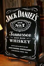 "2016 Large Jack Daniels Tin Sign Old No. 7 Metal 18"" x 26"""