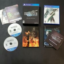 Final Fantasy Vii 7 Remake Deluxe Edition Ps4 - Complete