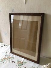 More details for antique oak picture frame 27cms x 36cms