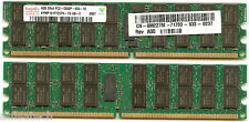 DELL Poweredge R905 M605 RAM KIT 32GB ( 8 x 4GB ) PC2-5300P 2Rx4 DDR2 667MHz ECC