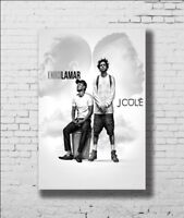 J Cole 4 Your Eyez Only Album Music Art Hot 12x18 24x36in FABRIC Poster N3637
