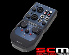 RRP$399 ZOOM U-44 Handy Portable USB Recorder Audio Interface 4 In 4 Out