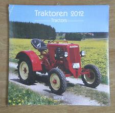 TRAKTOREN 2012 Wandkalender Traktor Trecker Rarität ovp Korsch Verlag