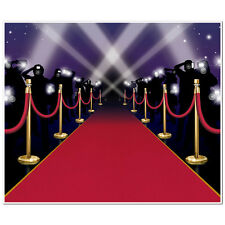 6ft VIP Hollywood Awards Night Poster RED CARPET WALL MURAL Party Decoration