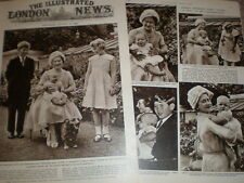 Photo article Queen Mother and new baby Prince Andrew 1960
