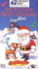 The Rudolph, Frosty & Friends Sing Along vhs new
