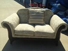 Couches Love Seat And Matching Living Room Couch /Ivroy Pattern