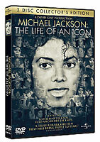Michael Jackson - The Life Of An Icon (DVD, 2011, 2-Disc Set) New Sealed