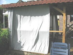 Sonnenschutz Beschattung Windschutz Wintergarten Pavillon-Stoff-153cm 6 Farben