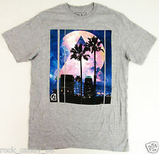 CALIFORNIA LOVE T-shirt Cali Palm Tree Galaxy Stars Tee Adult MEDIUM Gray New