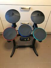 Xbox360 Guitar Hero Rock Band Drummer Set Standalone Drum Set X-Box 360 Wireless
