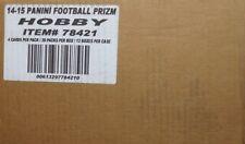 2014 Panini Prizm Football Hobby 12-Box Case