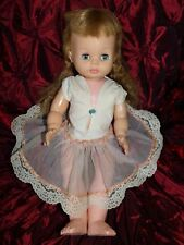 "ANTIQUE VINTAGE 17"" DOLL HORSMAN #6 SLEEPY EYES"