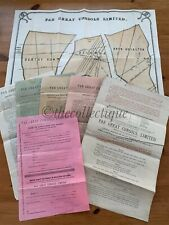 More details for par great consols ltd-tin mine/mining company share prospectus,map etc- cornwall