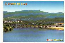 Carte postale ancienne PORTUGAL PONTE DE LIMA ALTO MINHO rio lima timbrée