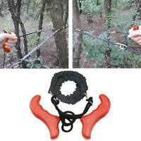 Pocket Hand Chainsaw Outdoor Survival Camping Hiking Wood Cutting Chain Saw