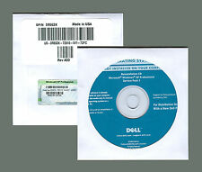 Windows XP Professional Pro SP3 Full Version Disc w CD COA Product Key & MoBo