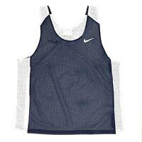 New Nike Reversible Mesh Tank Women's S/M Lacrosse Training Jersey Blue White