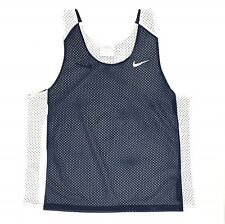 Nike Reversible Mesh Tank Women's S/M Lacrosse Training Jersey 707107 Blue White