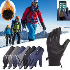 -10℃ Waterproof Winter Ski Gloves Touch Screen Cycling Warm Mittens Snow Sports
