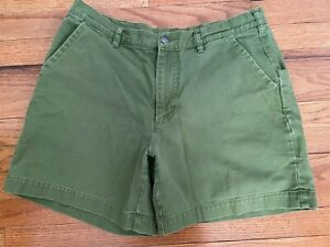 "Patagonia Men's Shorts Size 34 Stand Up 7"" Green"