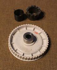 Riemenscheibe Set für Nähmaschine AEG 380 / 376 / 376b Feder, Mitnehmer
