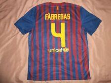 RARE mint Barcelona #4 FABREGAS XL shirt jersey HOME camiseta 2011 2012 nike