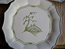 "Casafina Casa Stone Portuguese 8""salad plate, Li An pattern. Exceptional & Rare!"